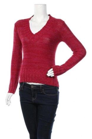 Дамски пуловер No Boundaries, Размер M, Цвят Червен, 88% акрил, 8% полиамид, 4% други тъкани, Цена 24,99лв.