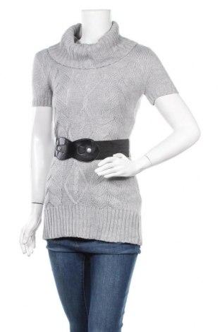 Дамски пуловер No Boundaries, Размер S, Цвят Сив, 95% акрил, 5% полиестер, Цена 16,38лв.