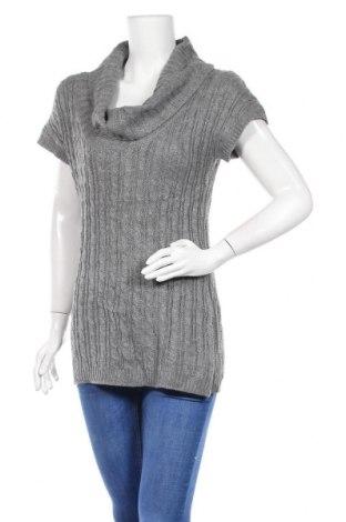 Дамски пуловер No Boundaries, Размер L, Цвят Сив, 82% акрил, 18% полиестер, Цена 16,38лв.