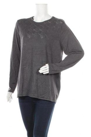 Γυναικείο πουλόβερ Noni B, Μέγεθος XL, Χρώμα Γκρί, 80% βισκόζη, 20% πολυαμίδη, Τιμή 17,54€