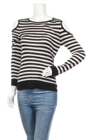 Дамски пуловер Now, Размер S, Цвят Черен, Вискоза, акрил, Цена 10,87лв.