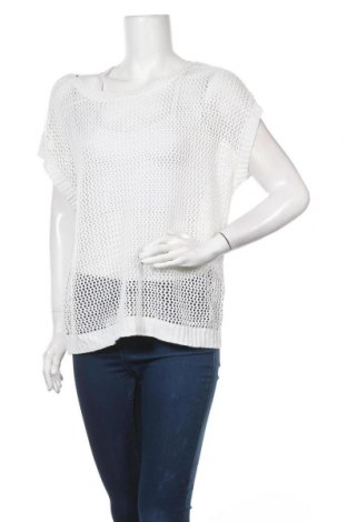 Дамски пуловер Now, Размер M, Цвят Бял, Акрил, метални нишки, Цена 32,92лв.