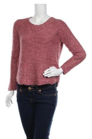 Дамски пуловер ONLY, Размер S, Цвят Розов, 68% полиестер, 32% акрил, Цена 13,86лв.