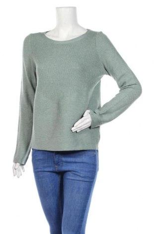 Дамски пуловер ONLY, Размер M, Цвят Зелен, 90% полиестер, 10% полиамид, Цена 19,11лв.