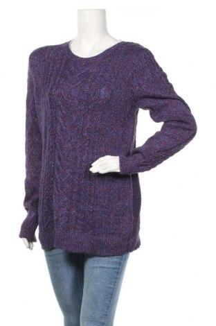 Дамски пуловер Old Navy, Размер L, Цвят Многоцветен, 57% памук, 39% акрил, 4% други тъкани, Цена 16,38лв.