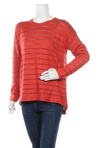 Γυναικείο πουλόβερ Ping Pong, Μέγεθος L, Χρώμα Πορτοκαλί, 80%ακρυλικό, 16% βισκόζη, 4% πολυεστέρας, Τιμή 19,12€