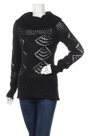 Дамски пуловер Poolgirl, Размер XS, Цвят Черен, 80% акрил, 20% мохер, Цена 8,19лв.