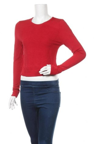 Γυναικείο πουλόβερ Portmans, Μέγεθος M, Χρώμα Κόκκινο, 65% βισκόζη, 35% πολυαμίδη, Τιμή 7,05€