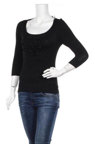 Дамски пуловер Portmans, Размер S, Цвят Черен, 82% вискоза, 18% полиамид, Цена 22,05лв.