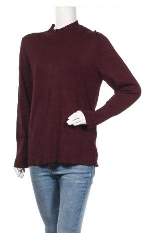 Дамски пуловер Preview, Размер XL, Цвят Червен, Вискоза, полиамид, Цена 14,44лв.
