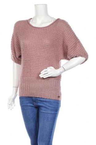Дамски пуловер Q/S by S.Oliver, Размер S, Цвят Пепел от рози, 90% акрил, 10% полиамид, Цена 12,72лв.