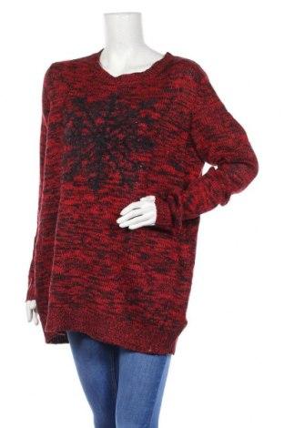 Дамски пуловер Relativity, Размер L, Цвят Червен, 92% акрил, 8% други материали, Цена 16,28лв.
