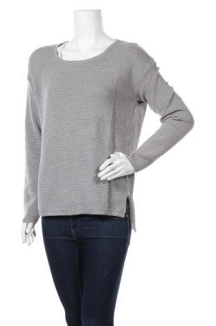 Дамски пуловер Rich & Royal, Размер S, Цвят Сив, 50% памук, 50% полиакрил, Цена 45,89лв.