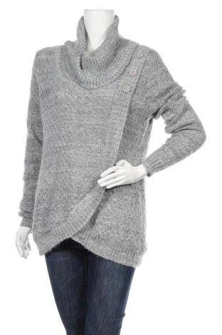 Дамски пуловер Ricki's, Размер L, Цвят Сив, 60% акрил, 40% полиестер, Цена 11,55лв.