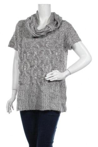 Дамски пуловер Ricki's, Размер XL, Цвят Сив, 91% акрил, 9% полиамид, Цена 7,09лв.