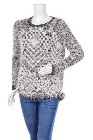 Дамски пуловер River Island, Размер M, Цвят Сив, 65% полиестер, 26% акрил, 9% метални нишки, Цена 8,82лв.