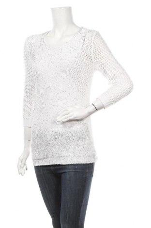 Дамски пуловер Rockmans, Размер XS, Цвят Бял, Полиестер, памук, Цена 6,83лв.