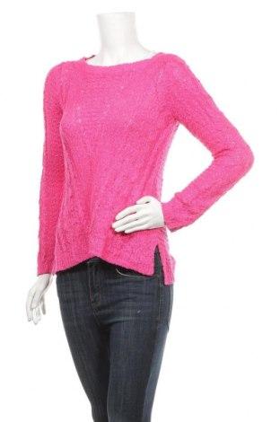 Дамски пуловер Rockmans, Размер S, Цвят Розов, Акрил, полиамид, полиестер, Цена 16,17лв.