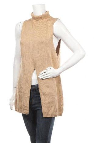 Дамски пуловер Rosebullet, Размер M, Цвят Кафяв, 60% акрил, 40% памук, Цена 8,19лв.