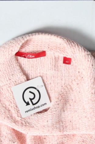 Γυναικείο πουλόβερ S.Oliver, Μέγεθος L, Χρώμα Ρόζ , Πολυεστέρας, Τιμή 11,97€