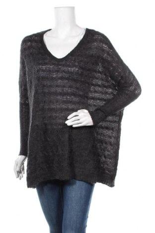Дамски пуловер Smart Set, Размер XS, Цвят Черен, 55% акрил, 30% полиамид, 15% мохер, Цена 7,35лв.
