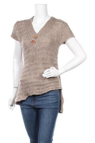 Дамски пуловер Smart Set, Размер L, Цвят Кафяв, Акрил, Цена 3,00лв.