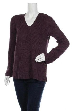 Дамски пуловер Sonoma, Размер L, Цвят Лилав, 60% памук, 40% акрил, Цена 11,76лв.