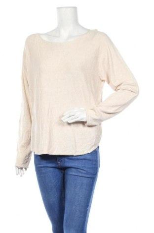 Дамски пуловер Sportsgirl, Размер L, Цвят Бежов, 60% вискоза, 40% памук, Цена 10,92лв.