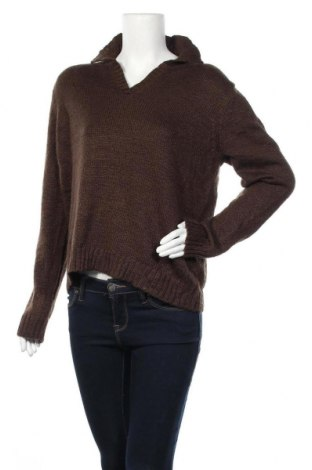 Γυναικείο πουλόβερ St. John's Bay, Μέγεθος L, Χρώμα Καφέ, 93%ακρυλικό, 7% πολυεστέρας, Τιμή 19,12€