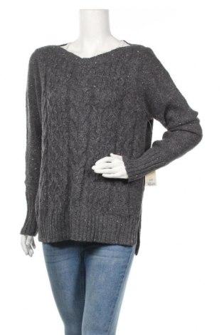 Γυναικείο πουλόβερ St. John's Bay, Μέγεθος XL, Χρώμα Γκρί, 60% βαμβάκι, 40%ακρυλικό, Τιμή 29,88€