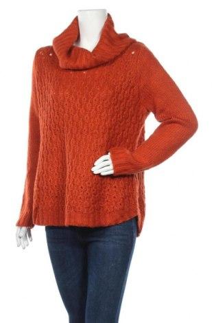 Дамски пуловер Suzanne Grae, Размер M, Цвят Оранжев, Акрил, Цена 10,92лв.