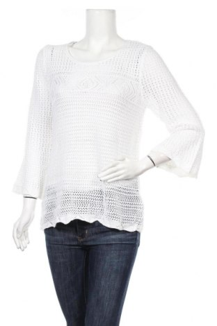 Дамски пуловер Suzanne Grae, Размер S, Цвят Бял, Акрил, полиестер, Цена 6,30лв.