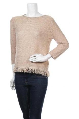 Γυναικείο πουλόβερ Suzanne Grae, Μέγεθος S, Χρώμα  Μπέζ, Τιμή 13,58€