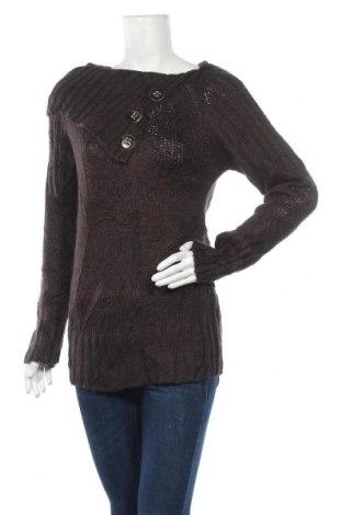 Дамски пуловер Suzy Shier, Размер L, Цвят Кафяв, Акрил, Цена 11,34лв.