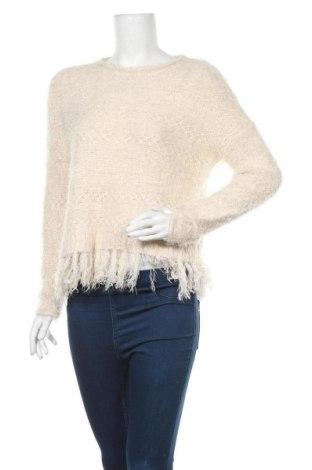 Дамски пуловер Tally Weijl, Размер S, Цвят Бял, 52% полиамид, 48% полиакрил, Цена 7,25лв.