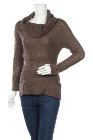 Дамски пуловер Tara M, Размер M, Цвят Кафяв, Полиакрил, Цена 12,18лв.