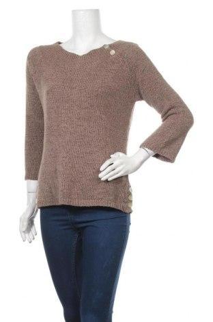 Дамски пуловер Target, Размер M, Цвят Кафяв, Акрил, полиамид, Цена 11,81лв.