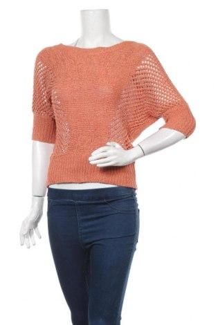 Дамски пуловер Temt, Размер S, Цвят Оранжев, 60% акрил, 40% полиамид, Цена 7,09лв.