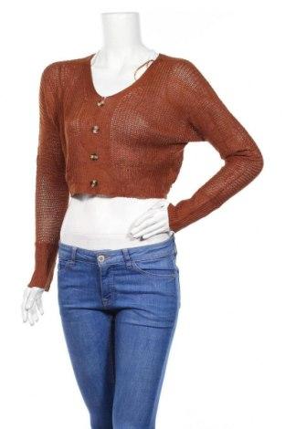 Γυναικείο πουλόβερ Temt, Μέγεθος S, Χρώμα Καφέ, Πολυεστέρας, Τιμή 5,68€