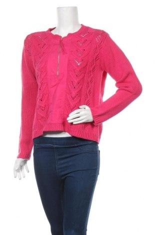 Дамски пуловер Together, Размер S, Цвят Розов, 55% рамия, 45% памук, Цена 40,27лв.