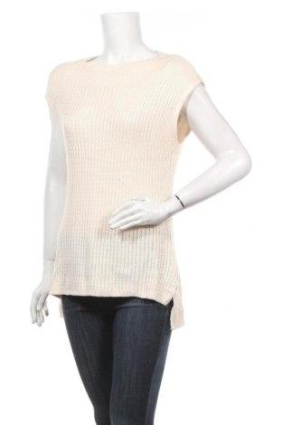Дамски пуловер Tokito, Размер L, Цвят Бежов, 55% акрил, 45% памук, Цена 4,63лв.