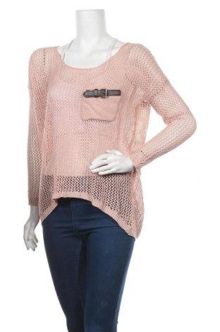 Дамски пуловер Touch, Размер M, Цвят Розов, 65% акрил, 35% вискоза, Цена 5,87лв.