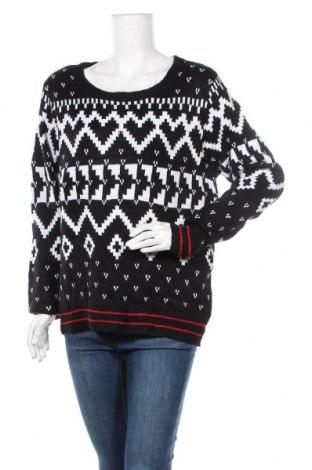 Дамски пуловер Ultra Flirt, Размер L, Цвят Черен, Акрил, Цена 17,27лв.