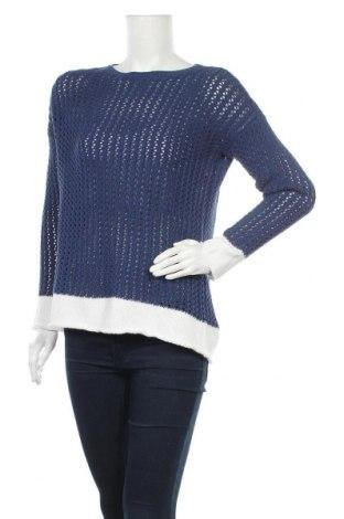 Γυναικείο πουλόβερ United Colors Of Benetton, Μέγεθος XS, Χρώμα Μπλέ, 50% βαμβάκι, 50%ακρυλικό, Τιμή 7,11€