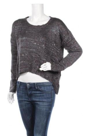 Γυναικείο πουλόβερ Up 2 Fashion, Μέγεθος M, Χρώμα Γκρί, 50% πολυεστέρας, 50%ακρυλικό, Τιμή 5,91€