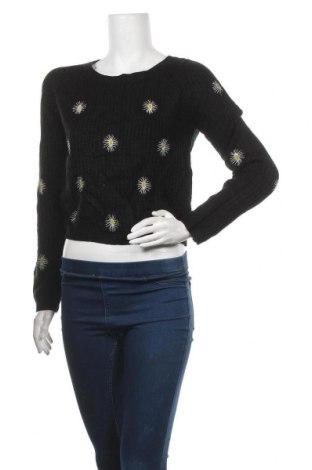 Дамски пуловер Valley Girl, Размер S, Цвят Черен, Акрил, Цена 15,75лв.