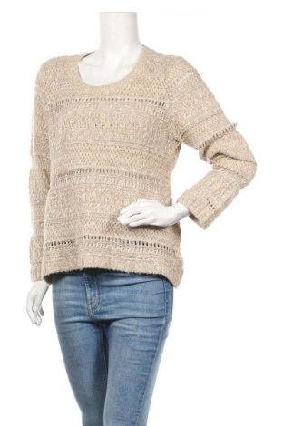 Дамски пуловер Vanila Sands, Размер XL, Цвят Бежов, 49% акрил, 43% памук, 8% полиамид, Цена 44,25лв.