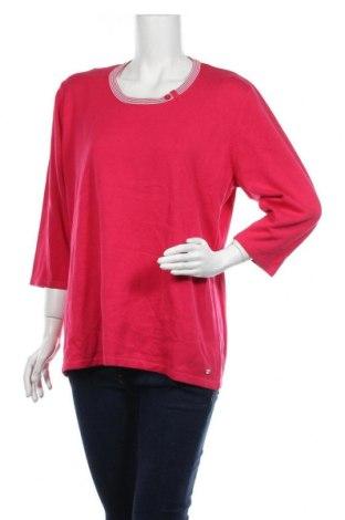 Γυναικείο πουλόβερ Via Appia, Μέγεθος XL, Χρώμα Ρόζ , 50% βαμβάκι, 50% πολυακρυλικό, Τιμή 16,89€