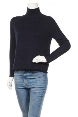 Дамски пуловер Whistles, Размер S, Цвят Син, 62% памук, 38% полиестер, Цена 104,25лв.