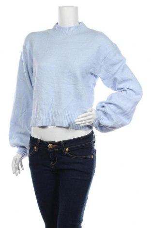 Дамски пуловер Wild Fable, Размер XL, Цвят Син, 74% акрил, 23% полиестер, 3% еластан, Цена 14,70лв.